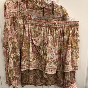 9c656a3420e147 Spell   The Gypsy Collective Other - Spell   The Gypsy Jungle Flutter  Shorts   Blouse